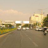 پل عابر پیاده سه راه کشاورز