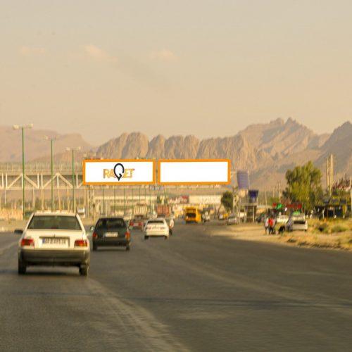 پل عابر پیاده اتوبان دستجردی – خیابان بقیه اله – 1