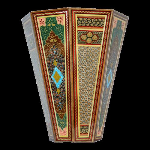 سطل صلیبی تذهیب نقاشی